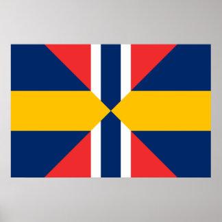 Norge Sverige Sildesalaten, norge Affischer