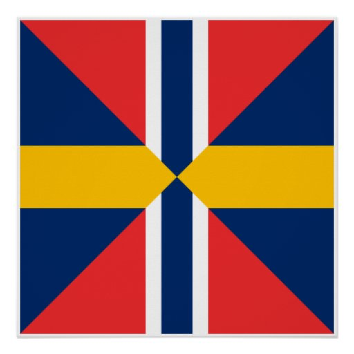 Norge Sverige Sildesalaten, norge Posters
