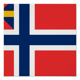 Norge unionG 1844, norge Affisch