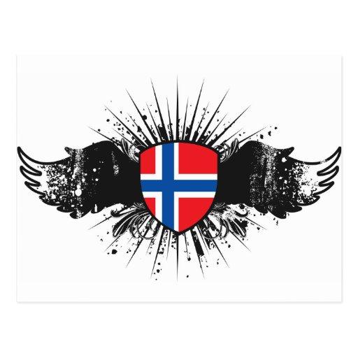 Norge Vykort