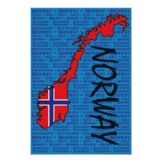Norgeaffisch Poster