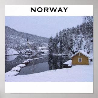 Norgeaffisch Affisch