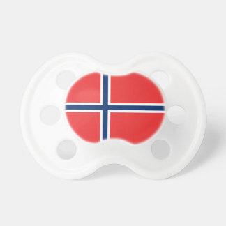 Norgeflagga Baby Napp