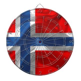 Norgeflagga Darttavla