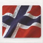 Norgeflagga Mus Matta