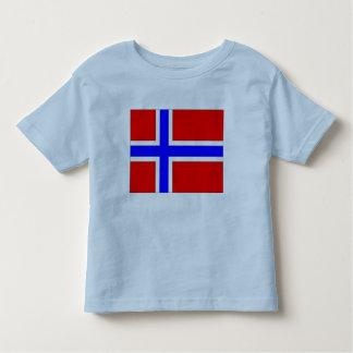 Norgeflagga T-shirt