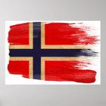 Norgeflaggaaffischer Affischer