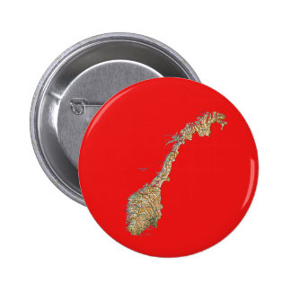 Norgekartan knäppas standard knapp rund 5.7 cm