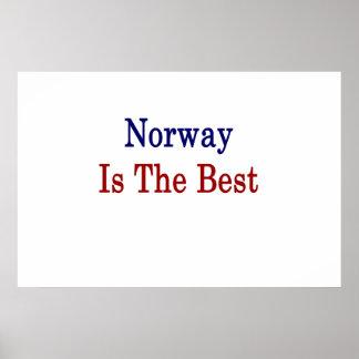 Norgen är det bäst posters