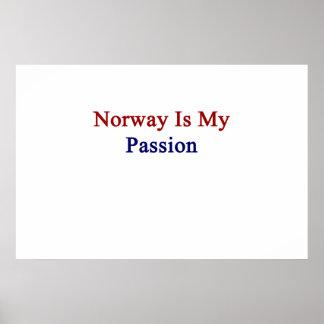 Norgen är min passion poster