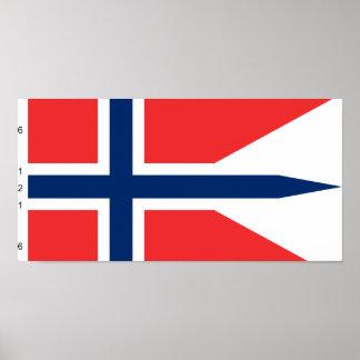 Norgen som är statlig med proportionerar norgen affischer