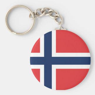 norieguian flagga rund nyckelring