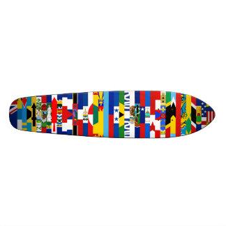 Norr - amerikanska flagganSkateboard Anpassningsbara Skateboard