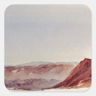 Norr Death Valley - avsluta Fyrkantigt Klistermärke