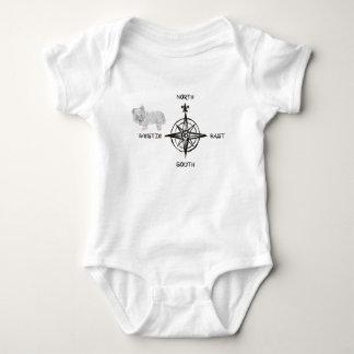 Norr southeast & Westie hund T-shirt