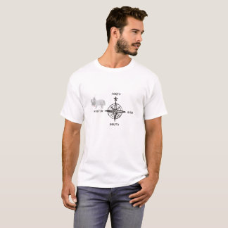 Norr southeast & Westie hund T Shirts