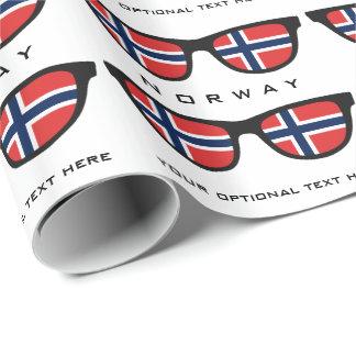 Norrmannen skuggar den beställnings- text- & presentpapper