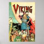 Norse för krigare för Norseman för Viking fraktTho Posters