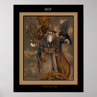 Norseguden Odin Poster