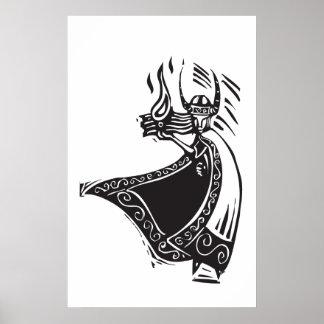NorsegudLoki Print