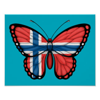 Norsk fjärilsflagga
