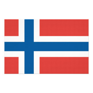 Norsk flagga brevpapper