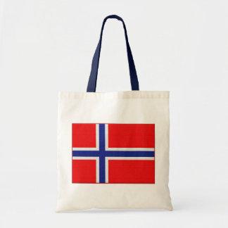 Norsk flagga budget tygkasse