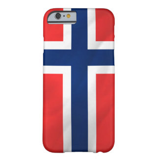 Norsk flagga barely there iPhone 6 fodral