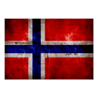 Norsk flagga posters