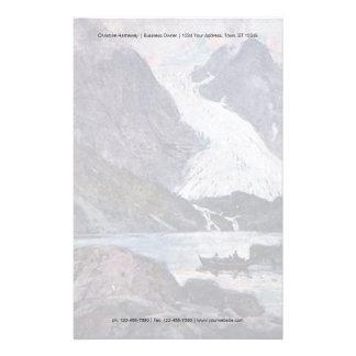 Norsk glaciär brevpapper