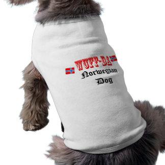 Norsk hund Wuff-Da Hundtröja