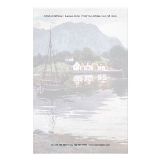 Norsk naturflykt brevpapper