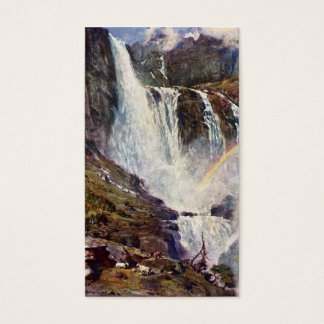 Norsk vattenfall visitkort