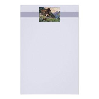 Norska mjölkmaidss kabin brevpapper