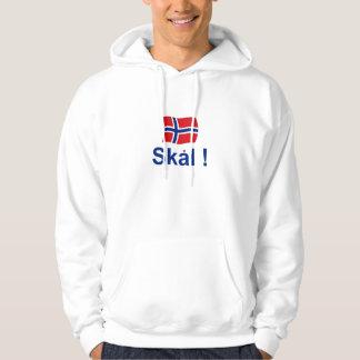Norska Skal! (Jubel) Tröja Med Luva
