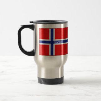 Norskt namn för flaggaanpassningsbarpersonlig rostfritt stål resemugg