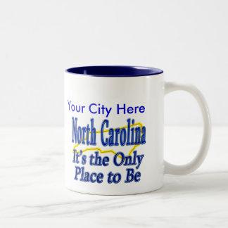 North Carolina är det det enda stället som är Två-Tonad Mugg
