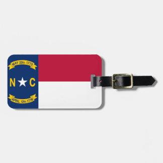 North Carolina Bagagebricka
