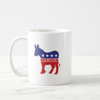 North Carolina demokratåsna Kaffemugg