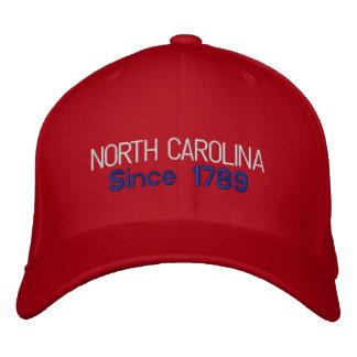 North Carolina efter lock 1788 Broderad Keps