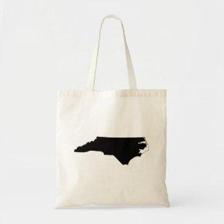 North Carolina i svartvitt Tygkasse