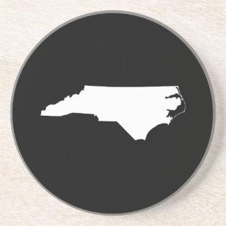 North Carolina i vit och svart Underlägg
