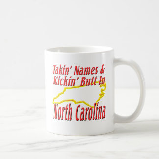 North Carolina - Kickin ända Kaffemugg