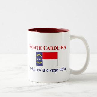 North Carolina Motto Två-Tonad Mugg