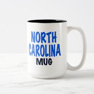 NORTH CAROLINA MUGG, roliga North Carolina gifts. Två-Tonad Mugg