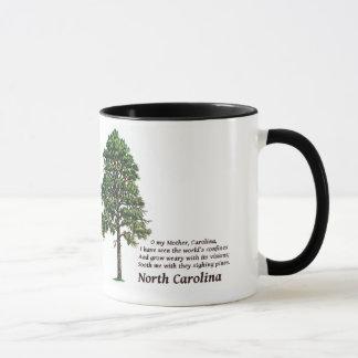 North Carolina som suckar gräs Mugg