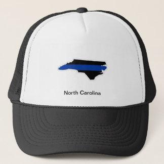 North Carolina tunn blålinjentruckerkeps Keps