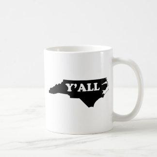 North Carolina Yall Kaffemugg