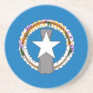 Northern Mariana Islands flagga Underlägg För Glas