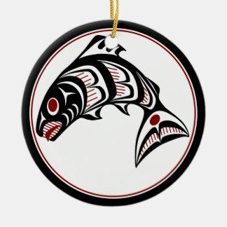 Northwest lax för StillahavskustenHaidakonst Julgransprydnad Keramik